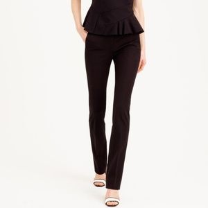 J Crew Black Campbell Trouser Pants Size 00